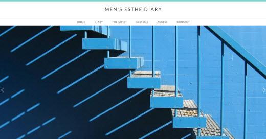 MEN'S ESTHE DIARY